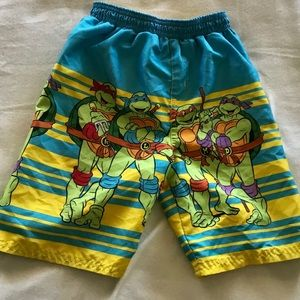 4/$10 Ninja Turtles Swim Trunks